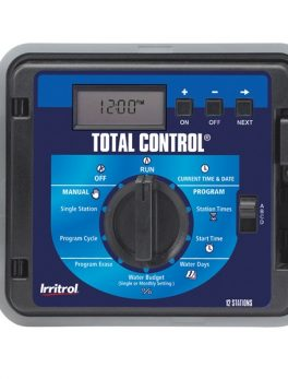 Irritrol Total Control-R Modular Controller 6 Station Indoor Plastic Wall Mount Cabinet